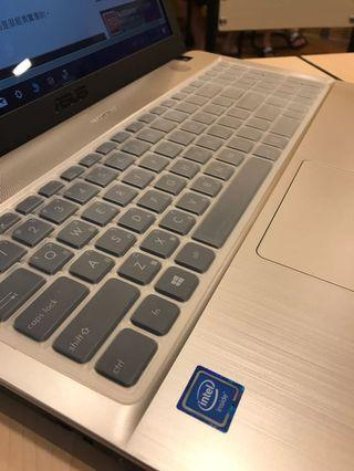 全新用不到 Asus 筆電 15.6吋 win10 i3 -N3450 處理器x541N