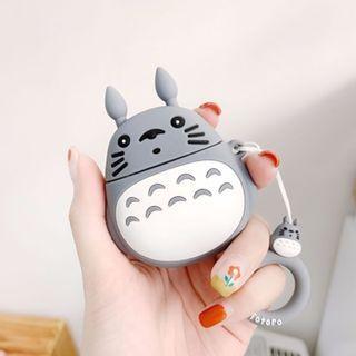 🚚 Cute Chinchilla Totoro AirPods Apple
