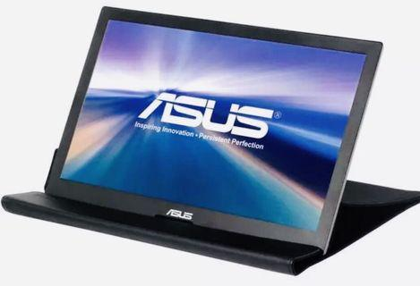 NEW ASUS Portable HD Monitor USB MB168B