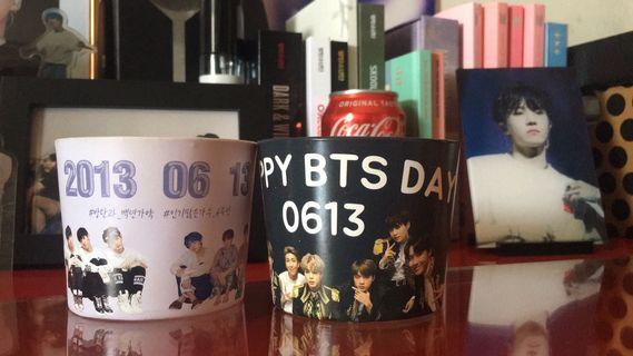 [WTS] BTS 6TH ANNIVERSARY KOREA CUPSLEEVES