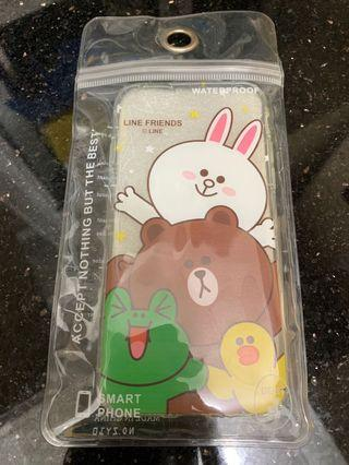 全新 Line friends Brown Conny Sally Iphone case 6 6S 電話套 電話殻 手機套 手機殻 包平郵 可面交