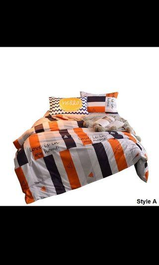 Queen fitted bedsheet ( free postage)