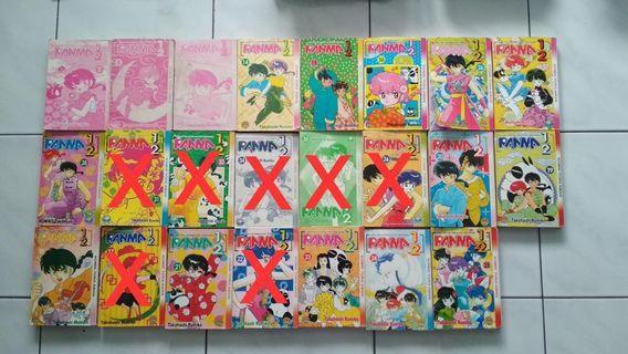 Rare Ranma 1/2 comic RM10 Each