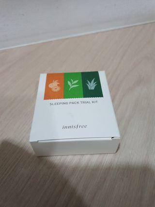🚚 Innisfree Sleeping Pack Trial Kit