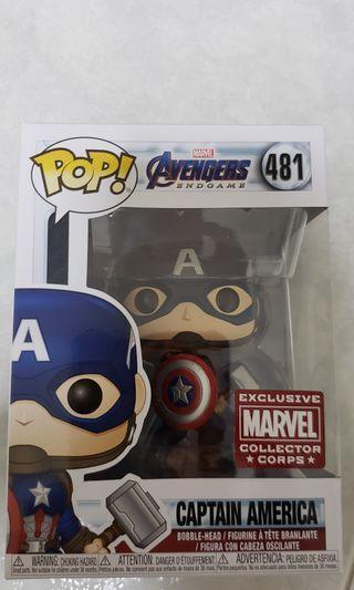 Funko Pop Captain America