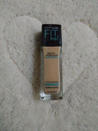 Maybelline Fit Me Foundation 128 (Warm Nude)