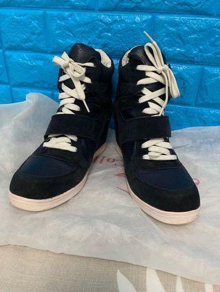 🚚 厚底麂皮 增高休閒鞋
