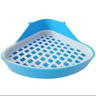 Pet Toilet Square Potty Trainer Corner Litter