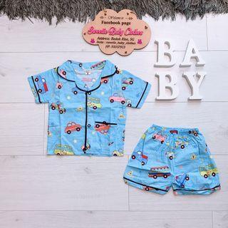 Car boy pyjamas