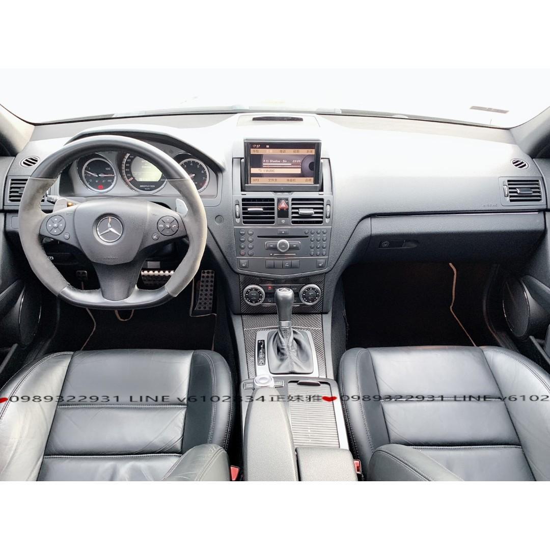賓士2008年C63 AMG 道路猛獸..當初新車價要四百多萬,現在只賣你這樣~~還不快讓自己圓夢吧