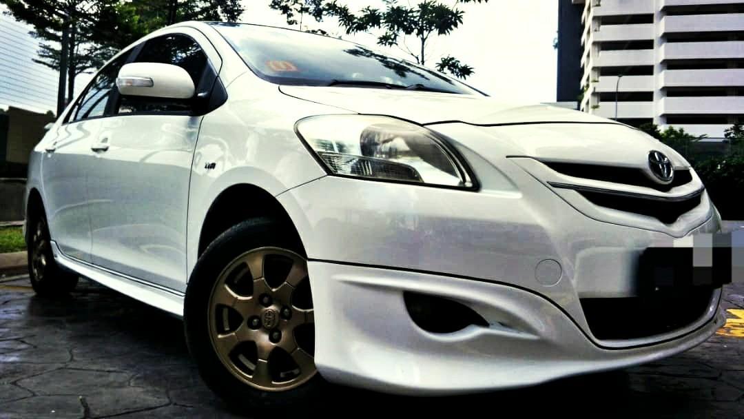 2009 Toyota VIOS 1.5E (A) dp 3990 jika b/list boleh mohon loan kedai kereta.