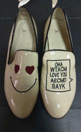 可愛個性皮鞋