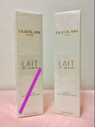 🔥[夏日激減 25折]Guerlain 嬌蘭 LAIT DE BEAUTE satin milk pure radiance cleanser 200ml  純淨美肌潔面乳   卸妝