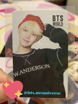 [WTS/WTT] BTS THE WORLD OST OFFICIAL suga/yoongi PHOTOCARD