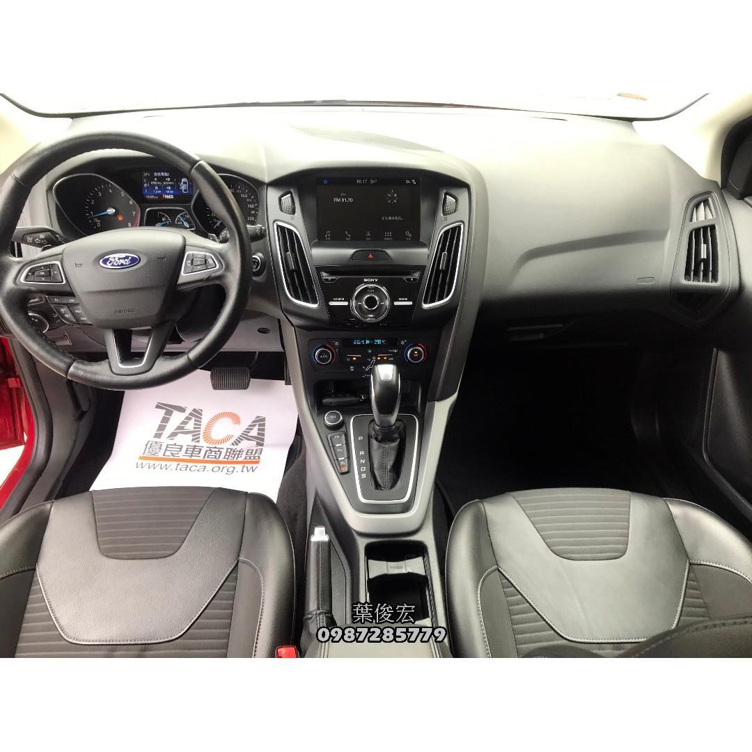 福特原廠認證中古車2017年Ford Focus EcoBoost180 1.5小改款頂級五門 原廠認證全台延長保固