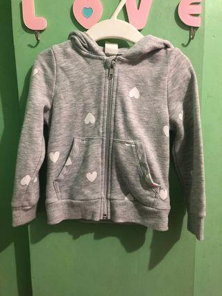 Preloved H&M jacket with hood