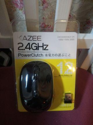 Wireless optical mouse 全新 無線 滑鼠