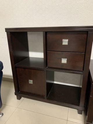 Hardwood Side Cabinet - Made of Teak Wood