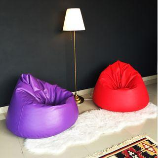 ZMBeanBag Waterdrop Sofa Flexible PVC Cushion Bantal
