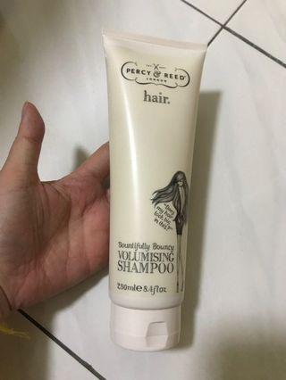 Used authentic Percy & Reed volumising shampoo 250ml