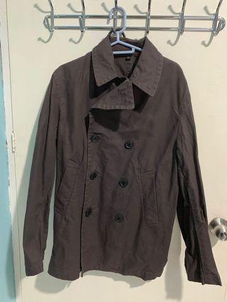 Brown winter Trench coat