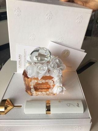 Guerlain perfume set  Le Bouquet de la Mariee 限量組盒