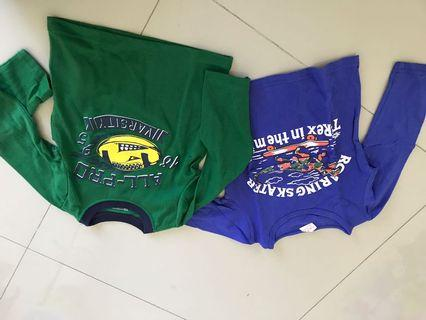 Baju tangan panjang 2th