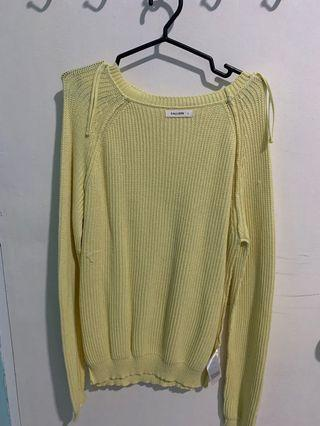 Calliope Yellow Knitted top