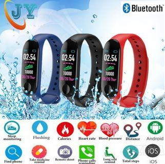 🚚 M3 Waterproof Smartwatch Fitness Tracker