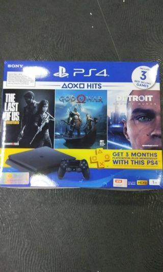 Trade ps3 for brand new ps4( 20 sets only)