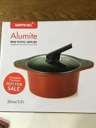 🚚 Happycall Alumite Ceramic Pot - 20cm stockpot