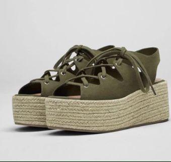 Pull&bear shoes zara stradivarius charles&keith topshop h&m f21