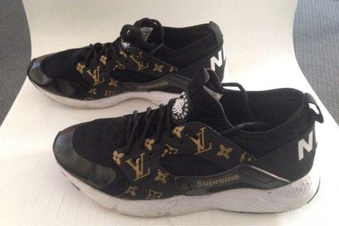 Nike Louis Vuitton supreme sneakers