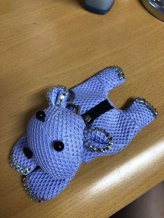 🚚 紫色兔兔🐰鑰匙圈