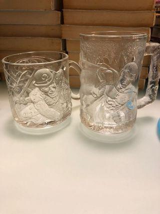 glass mugs mcdonalds robin riddler collectibles