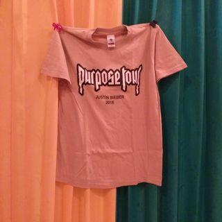 Unisex Kaos Purpose Tour Justin Bieber