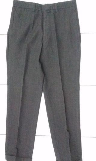 Celana Kerja Pria Dark Grey #maugopay