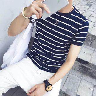 男士韓版短袖上衣(XL尺碼偏小)