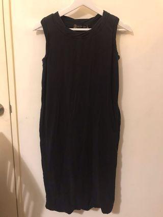 Black Dress Body Glove