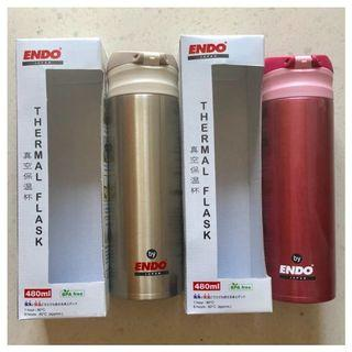 BN ENDO 480ml Double Stainless Steel Mug / Thermal Flask