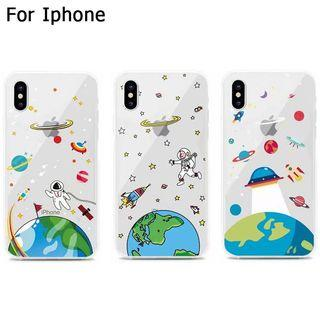 [ FREE NM ] Space iPhone case