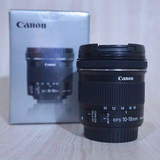 Canon EFS 10-18mm IS STM (Ultra Wide Angle)