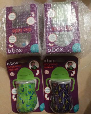『現貨』 紐西蘭代購 B. Box 防漏吸管學習杯(6個月以上適用)