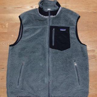 Patagonia Retro-x vest fleece 保暖 輕量 防風 刷毛 背心 灰色 深灰 絨毛 外套