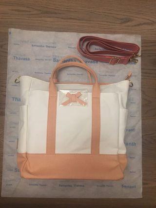 全新 Samantha Thavasa Bag 手挽袋 三用袋