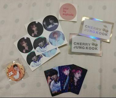 BTS Jungkook Fansite Goods
