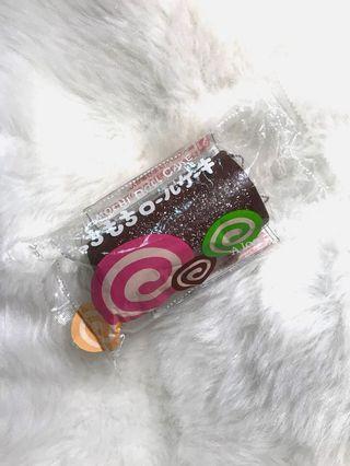 Ultra Rare Ibloom Chocolate Mochi Cakeroll squishy