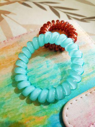 Ikat Rambut Spiral Line #maugopay