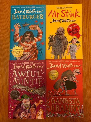 David Walliams - Awful Auntie/ Gansta Granny / Mr Stink / Ratburger