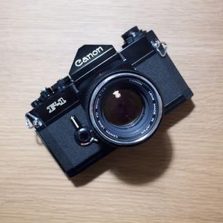 Canon F-1 Film SLR Camera 50mm F1.4 Lens F1 Old